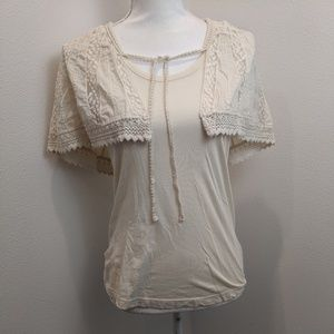 ANTHROPOLOGIE Deletta With Wings Tank Top